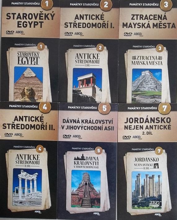 Kolekce Památky starověku 6DVD
