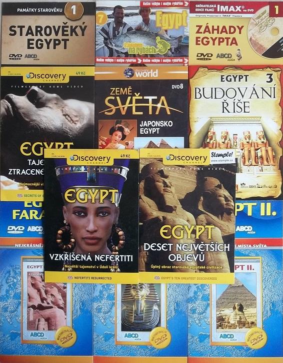 Velká kolekce Egypt 11DVD