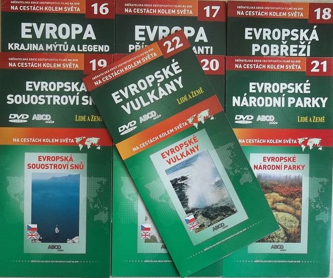 Kolekce Evropa 7DVD