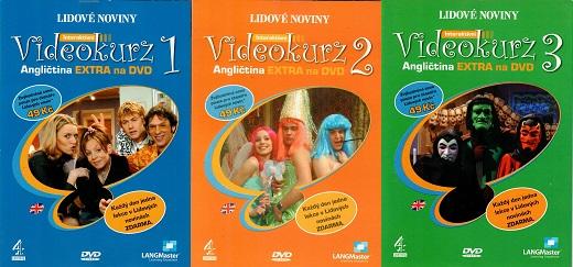Kolekce Videokurz Angličtina 3DVD