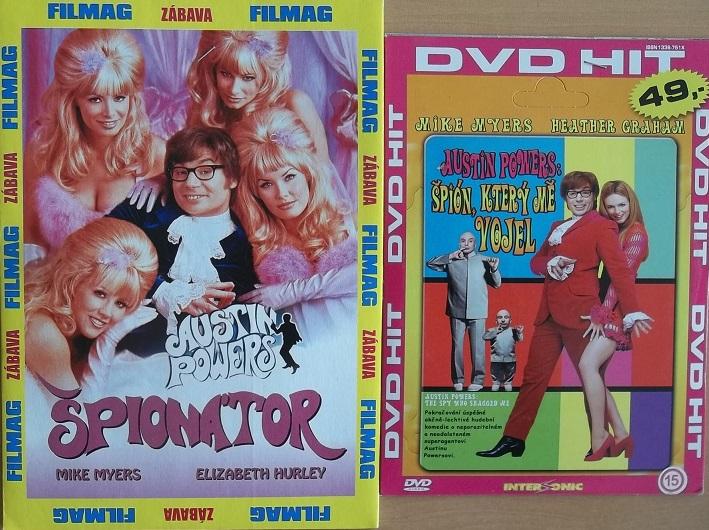 Kolekce Austin Powers 2DVD