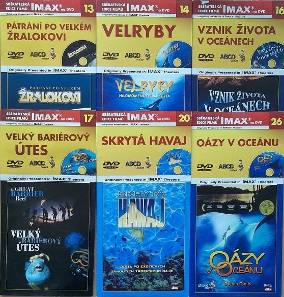 Kolekce život v oceánu 7DVD + DÁREK časopis