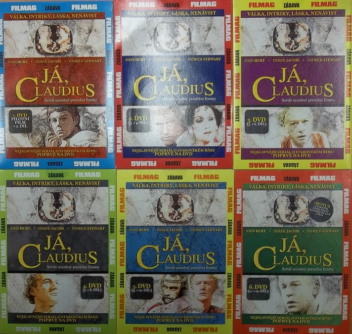 Kolekce Já, Claudius 6DVD