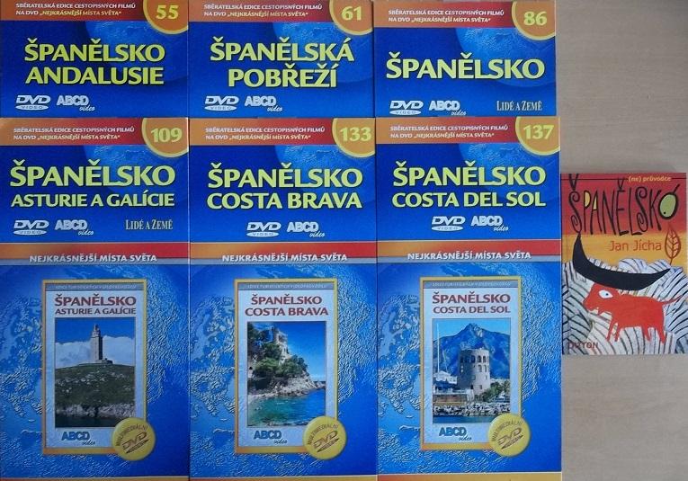 Kolekce Španělsko 6DVD + (NE)průvodce Jan Jícha + DÁREK