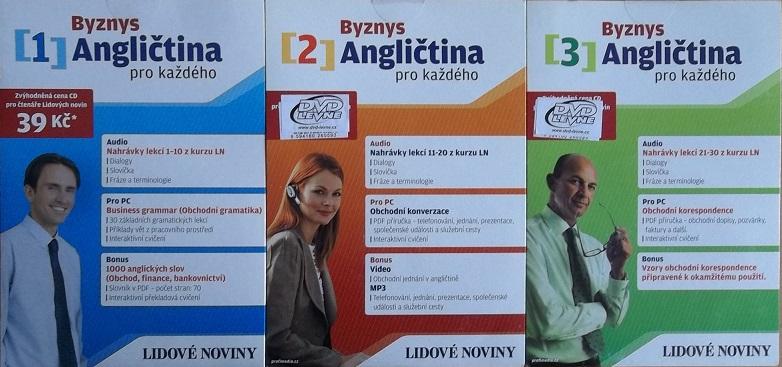 Kolekce Byznys Angličtina 3CD