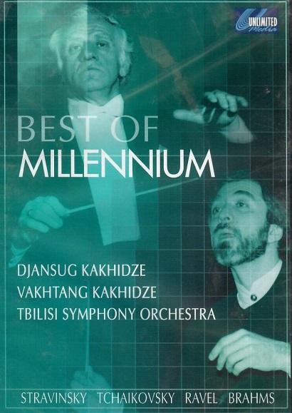 Best of millennium - Stravinsky, Tchajkovsky,Ravel,Brahms - DVD
