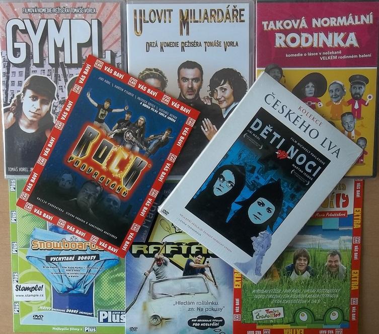Kolekce Jiří Mádl - 8 DVD