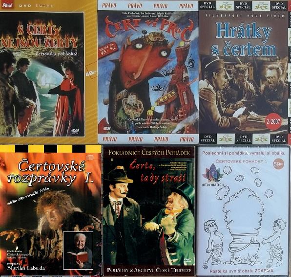 Kolekce Čertovské pohádky 4DVD+2CD