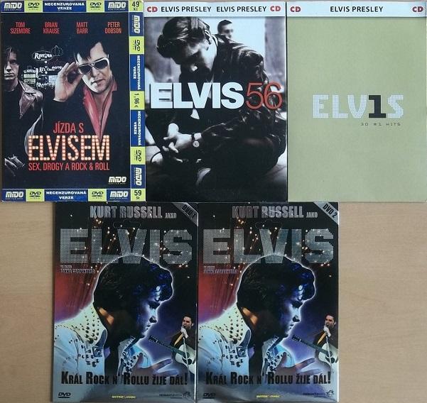 Kolekce Elvis Presley 3DVD +2 CD