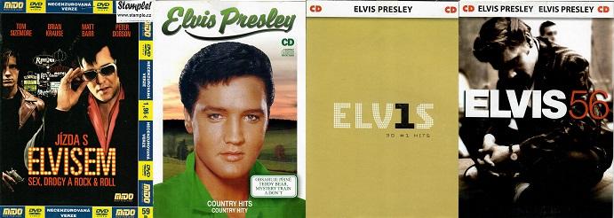 Kolekce Elvis Presley 1DVD + 3CD