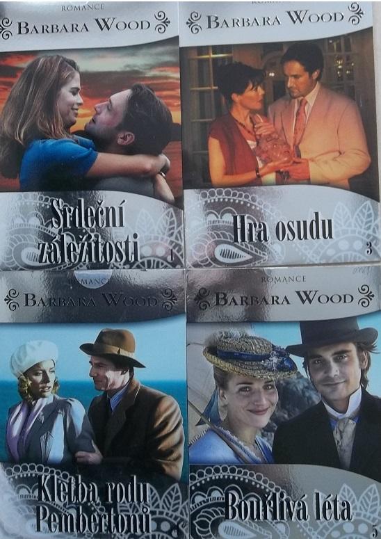 Kolekce Barbara Wood 4 DVD