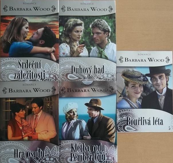 Kolekce Barbara Wood 5DVD