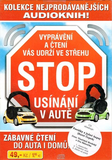 Stop usínání v autě - zábavné čtení do auta i domů - CD