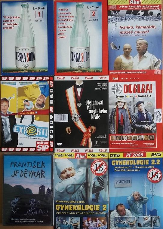 Kolekce Čtvrtníček  9DVD+1CD