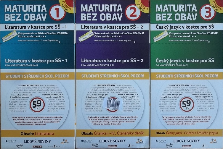 Kolekce Maturita bez obav 3CD-ROM