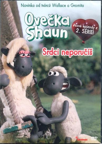 Ovečka Shaun - Srdci neporučíš - DVD plast