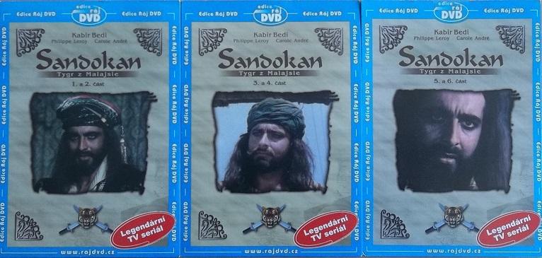 Kolekce Sandokan 3DVD