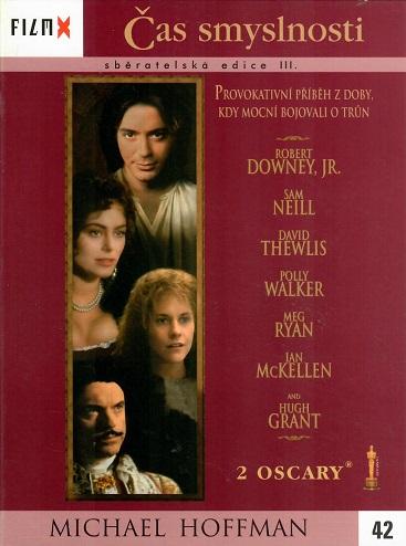Čas smyslnosti - DVD digipack