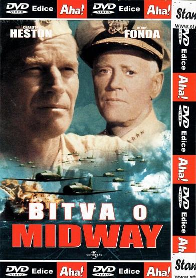 Bitva o Midway - pošetka DVD
