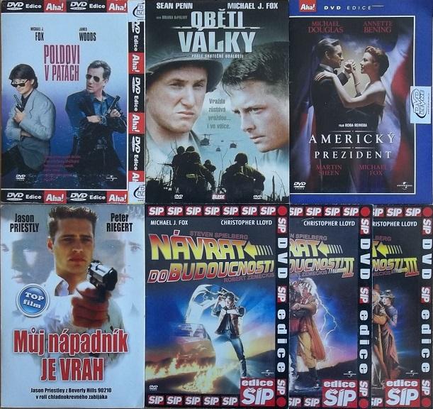 Kolekce Michael J. Fox 7DVD