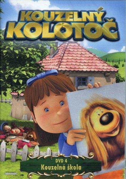 Kouzelný kolotoč 4 - Kouzelná škola - DVD