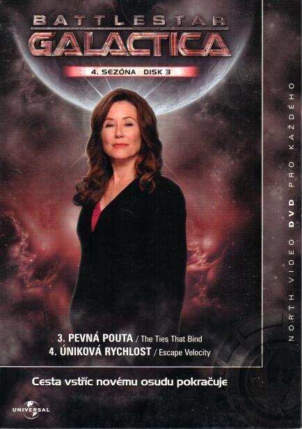 Battlstar Galactica - disk 3 - 4s sezńa - DVD