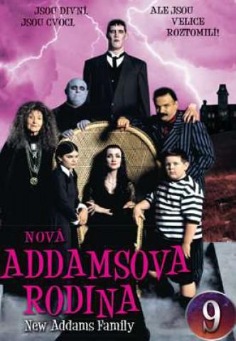 Nová Addamsova rodina 9 - DVD