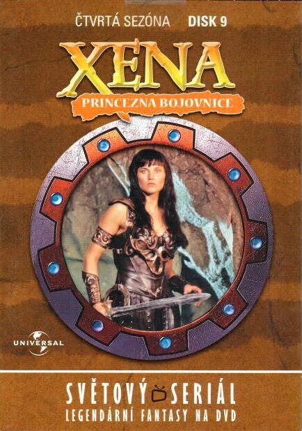 Xena disk 9 - 4.sezóna - DVD