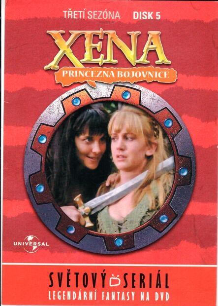 Xena disk 5 - 3.sezóna - DVD