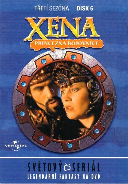 Xena disk 6 - 3.sezóna - DVD