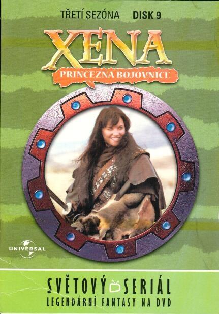 Xena disk 9 - 3. sezńa - DVD