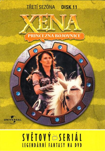 Xena disk 11 - 3. sezóna - DVD