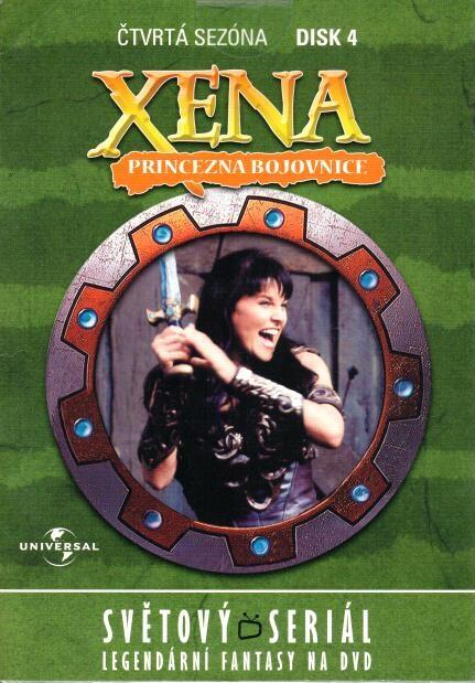 Xena disk 4 - 4. sezóna - DVD