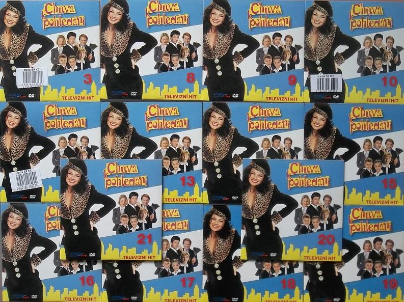Kolekce Chůva k pohledání 14 DVD ( nekompletní )