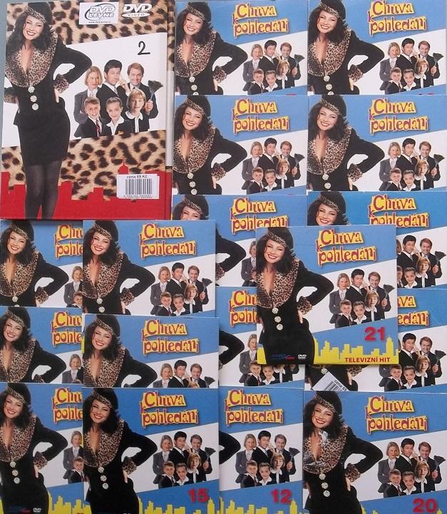 Kolekce Chůva k pohledání 16 DVD ( nekompletní )