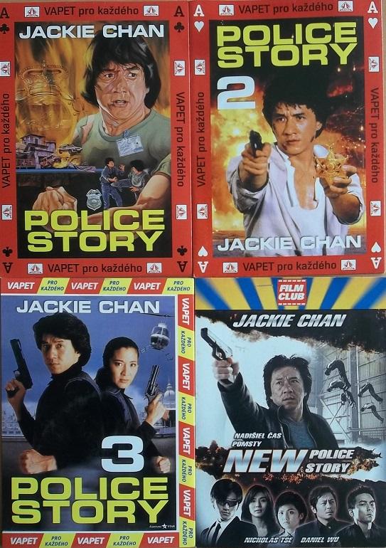Kolekce Police Story 4DVD