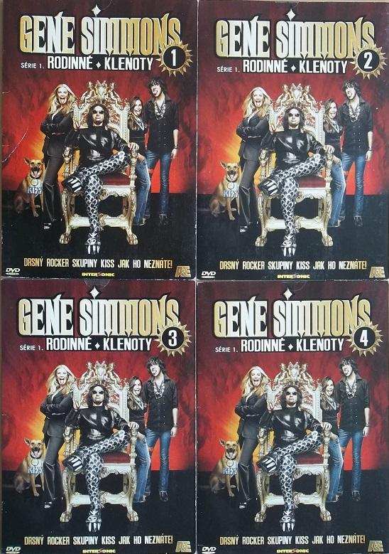 Kolekce Gene Simmons - Rodinné klenoty 4DVD