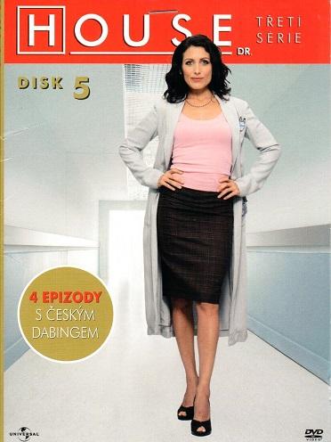 Dr. House - 3. série, disk 5 - DVD