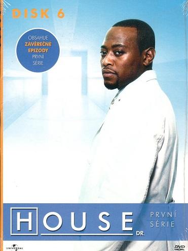 Dr. House - 1. série, disk 6 - DVD