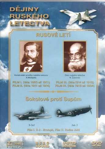 Dějiny ruského letectva - DVD