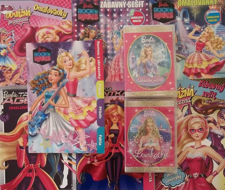Kolekce Barbie 7x časopis + 2x DVD