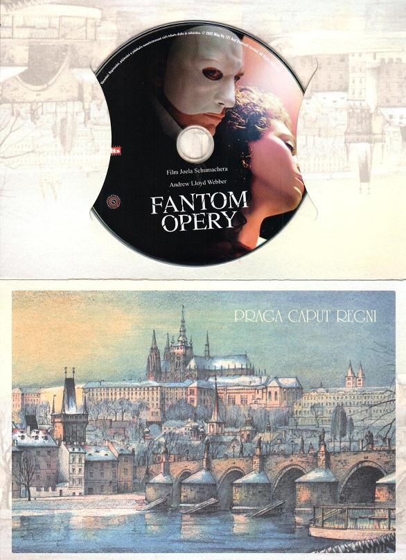 Fantom opery - Gerard butler ( Dárkový obal) DVD