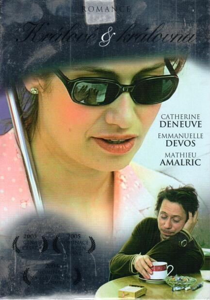 Králové a královna (papírový obal) - DVD