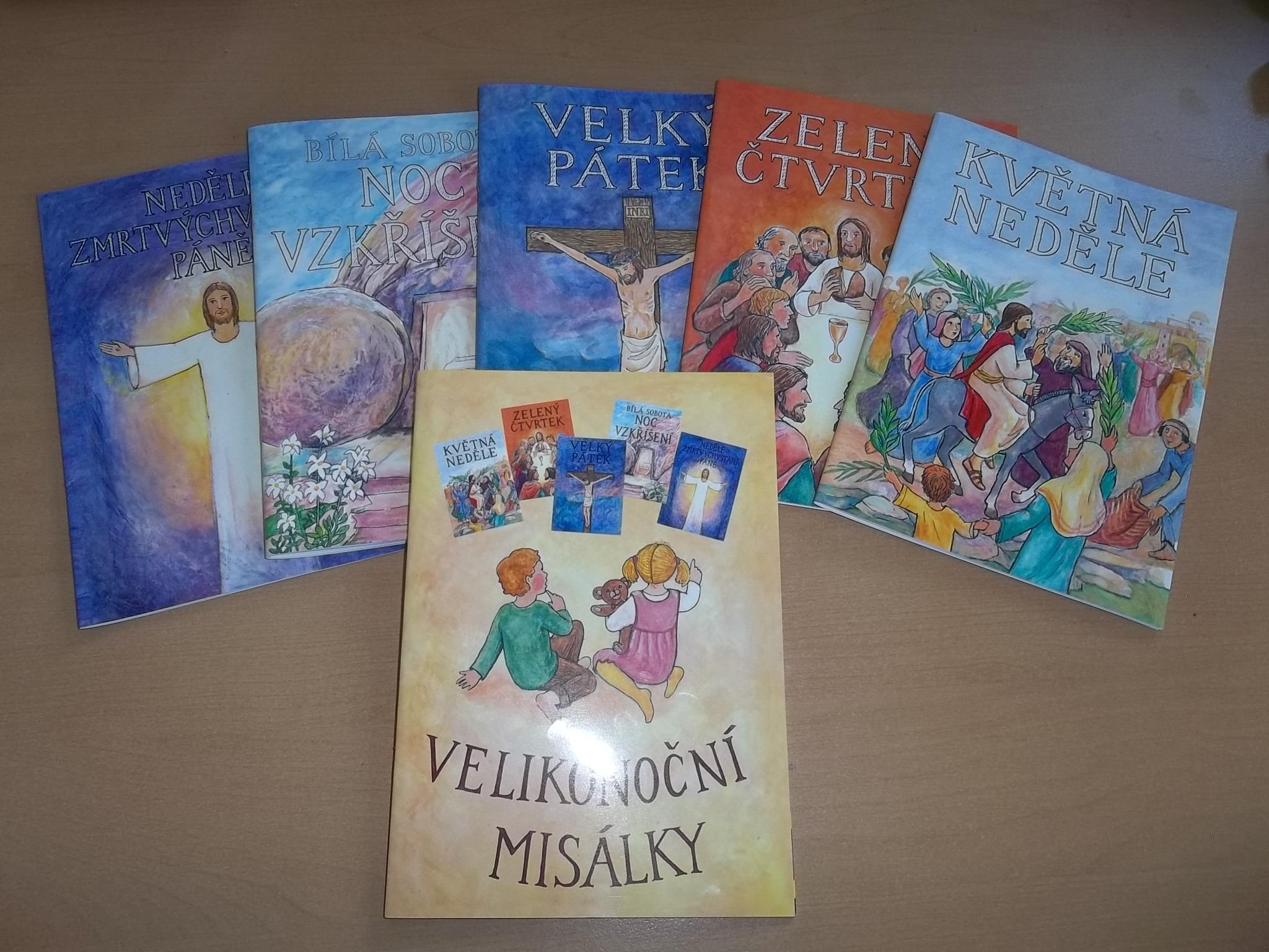 Velikonoční Misálky (kolekce 6 sešitů)