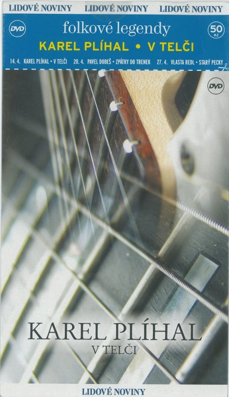 Karel Plíhal v Telči - DVD