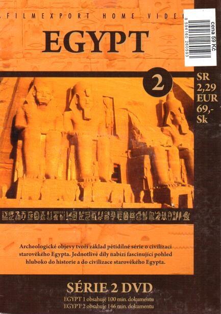 Egypt 2 - DVD papírová pošetka