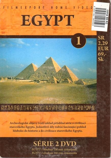 Egypt 1 - DVD  papírová pošetka