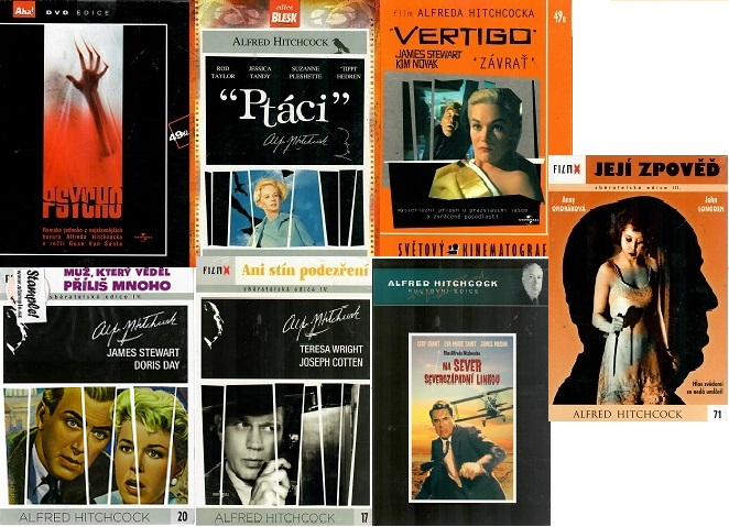 Kolekce Alfred Hitchcock 7x DVD