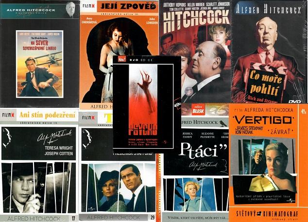 Kolekce Alfred Hitchcock 9 DVD