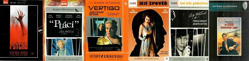 Kolekce Alfred Hitchcock 6x DVD